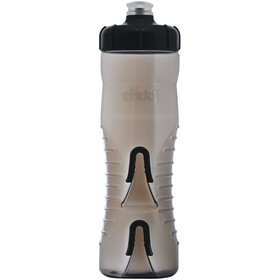 Fabric Cageless Bottle 750ml, black/black